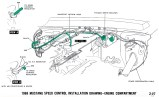 Speed Control Engine Compartment - Installation Drawing