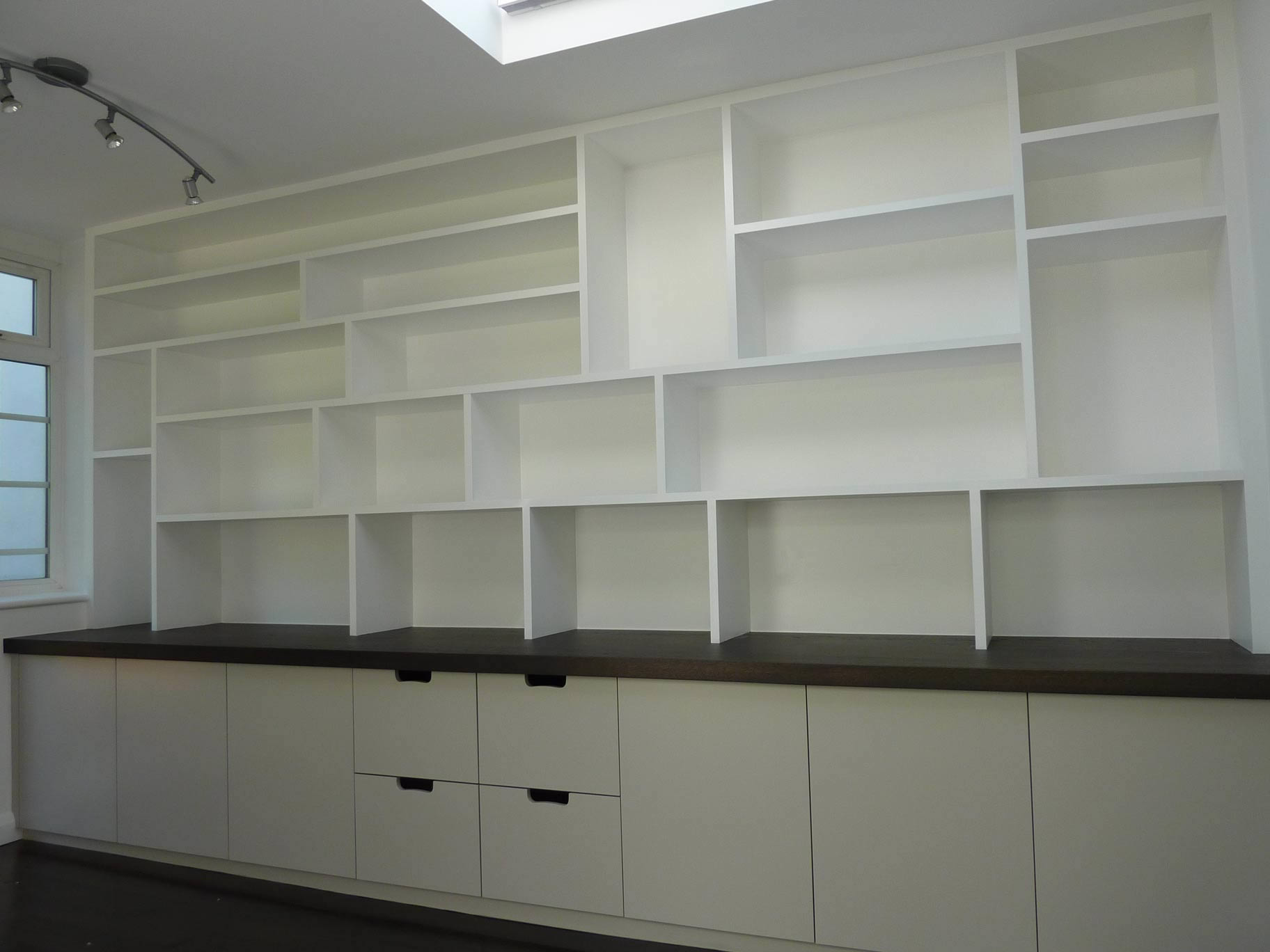 fitted study cabinetry handmade by Peter Henderson