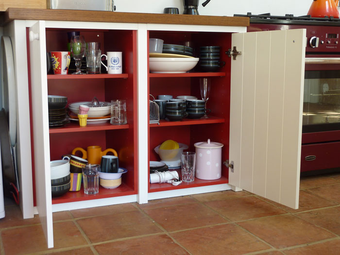 Tongueandgroove kitchen handmade by Peter Henderson