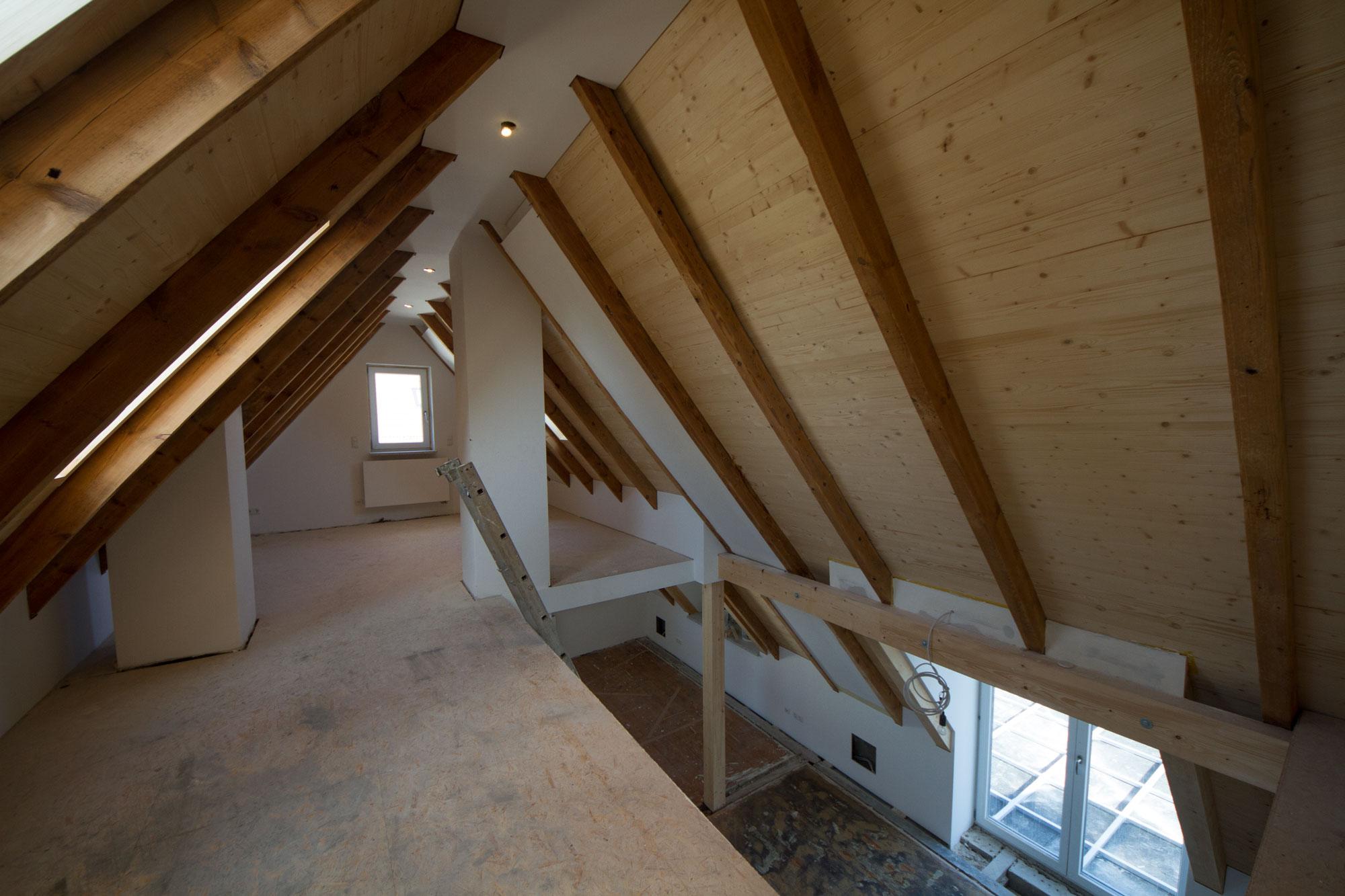 Peter Hfner Innenarchitekt Umbau eines Zweifamilienhauses