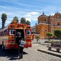 South of Antigua Guatemala:  Ciudad Vieja, San Pedro Las Huertas, San Gaspar