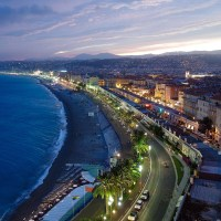 Twilight in Nice