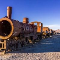 The Uyuni Train Cemetery