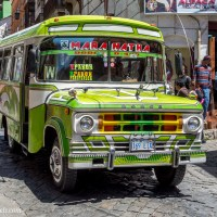 Ten Bus Photos From La Paz