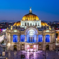 Getting the Shot:  The Palacio de Bellas Artes
