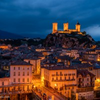 Blue Hour in Foix