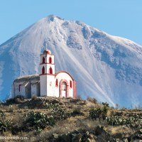 A Hilltop Chapel and Pico de Orizaba