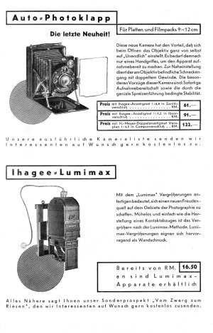 Ihagee Anleitungen etc.