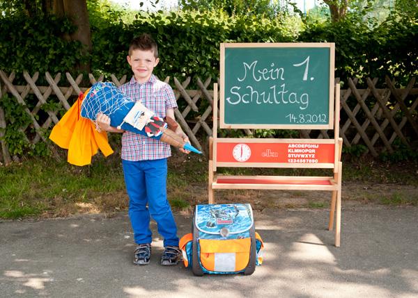 Einschulung  Schulkinder  Erster Schultag