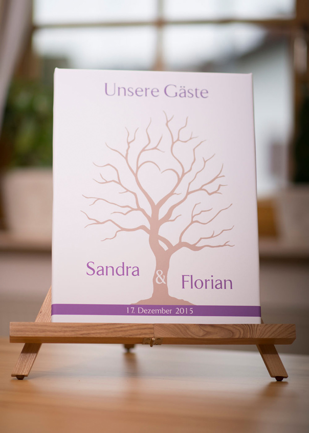 wedding tree sandra florian