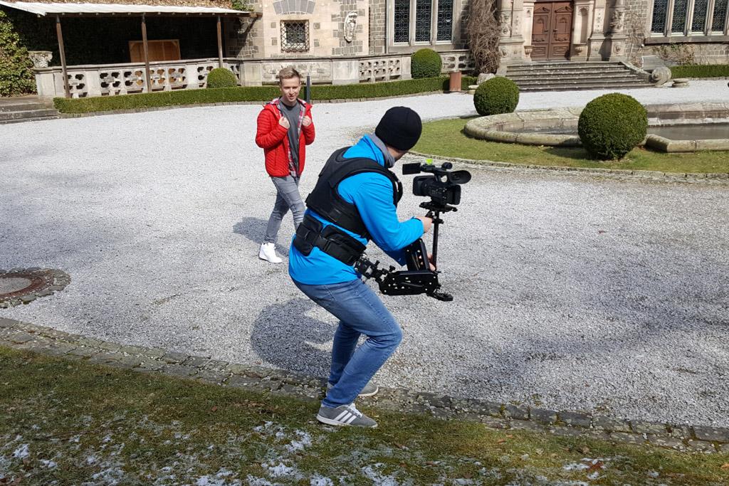 videodreh mit schlagersaenger patrick heidenreich 3