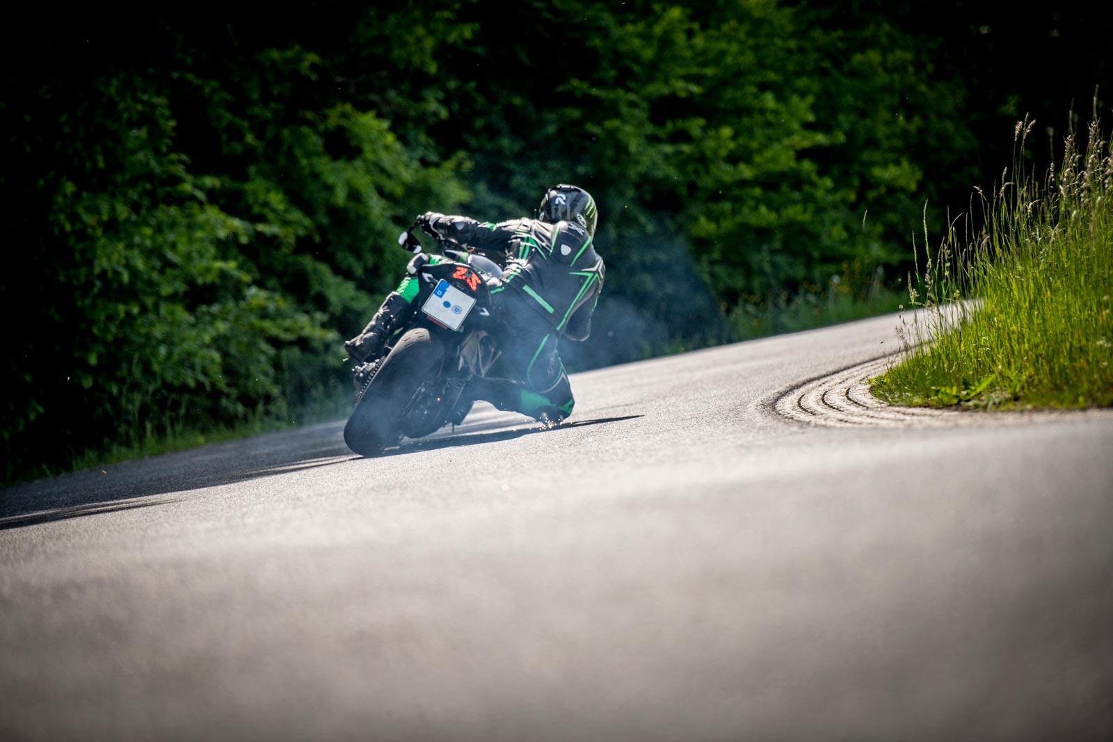 cooles motorradshooting rauschenberg