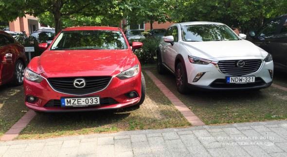 """2012-es Mazda6 szinte """"öregnek"""" tűnik a CX-3 mellett"""