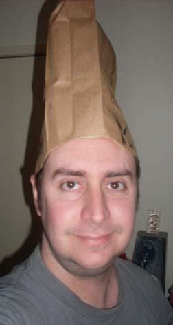 Paper Bag Hat!