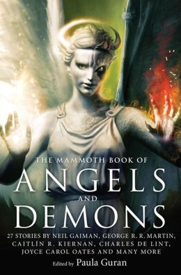 Mammoth Book of Angels and Demons Cover