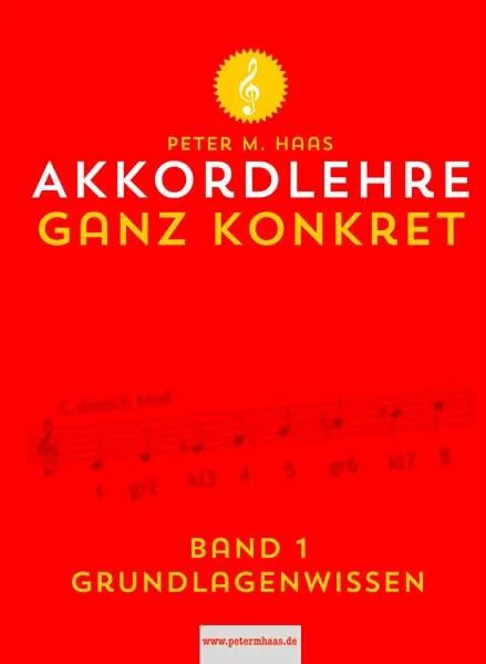 Akkordlehre Band 1 von Peter M Haas Titelbild