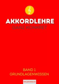 Titelbild Akkordlehre Band 1 von Peter M. Haas