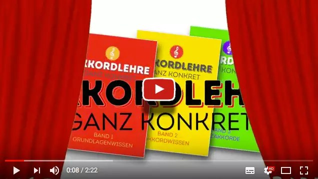 YouTube Video zur Akkordlehre - Trailer