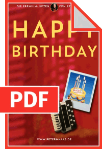 "Cover ""Happy Birthday"" von Peter M Haas"