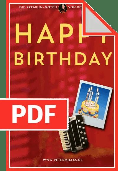 "Cover ""Happy Birthday"" von Peter M Haas"