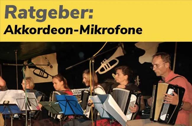 Teaser für Ratgeber Mikrofone Akkordeon