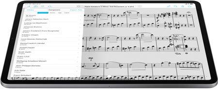 ForScore auf dem iPad