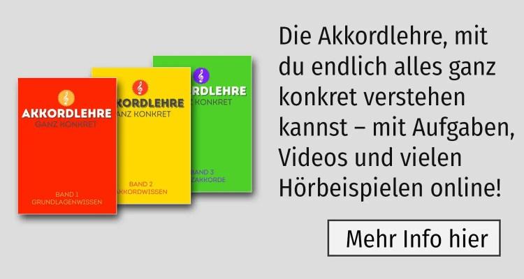 Akkordlehre drei Bände von Peter M Haas