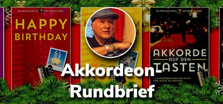 Akkordeon Rundbrief von Peter M haas Titel