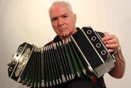 Bandoneonspieler Peter M Haas
