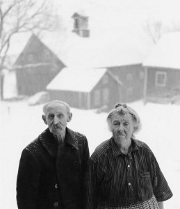 Will and Rowena,  Vermont Icons, died in the early 1960's.