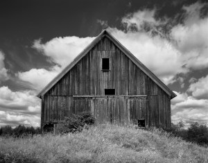 A barn in Peacham Vermont