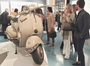 Sophia at the Piaggio museum