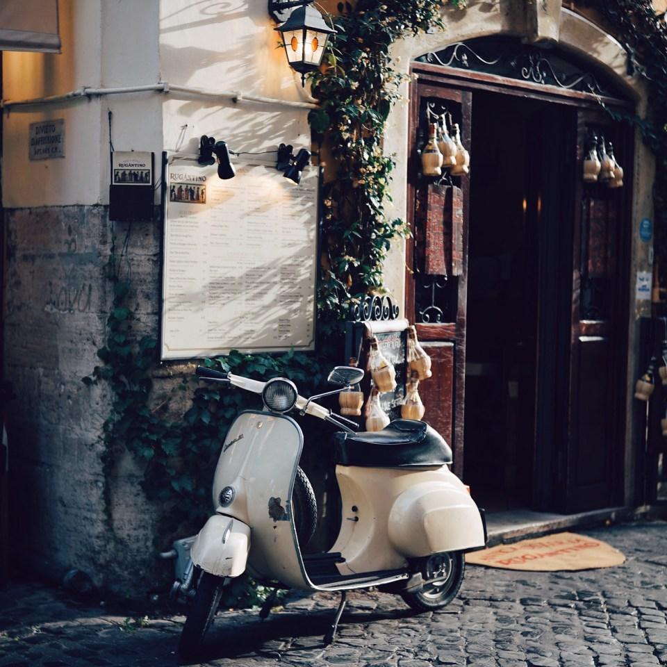 A Vespa in Italy (Karl Kohler/Unsplash)