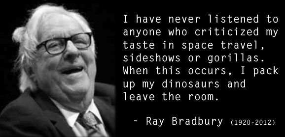 15 Quotes for Writers from Ray Bradbury