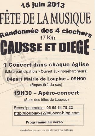 Concert à lEglise de Cassanus