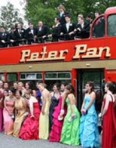Our passenger english style open top double decker bus will make your day  once in lifetime memory for every guest also rent wedding travel peter pan charter services rh peterpancharters