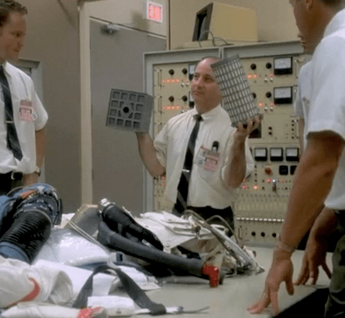 Scene from Apollo 13.