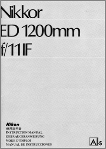 Peter Russell: Nikon Brochures & Manuals