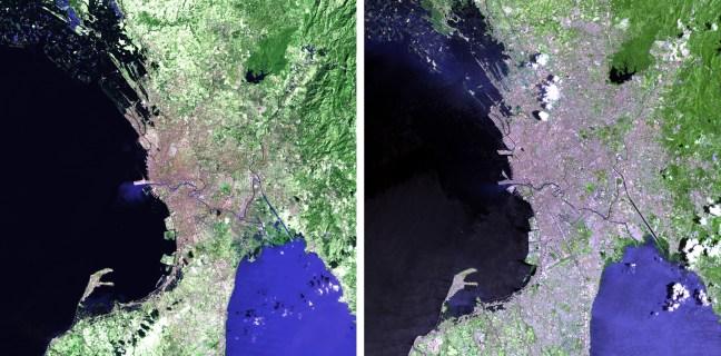 Manila 1989 vs 2012 lo rez USGS and NASA credits