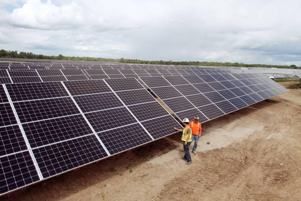 Newboro1 solar farm Ontario David Chan Globe & Mail