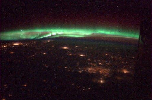 Northern Lights Chris Hadfield