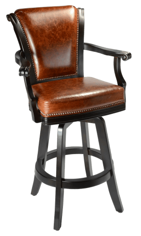 counter height chairs with arms chair covers niagara classic - peters billiards