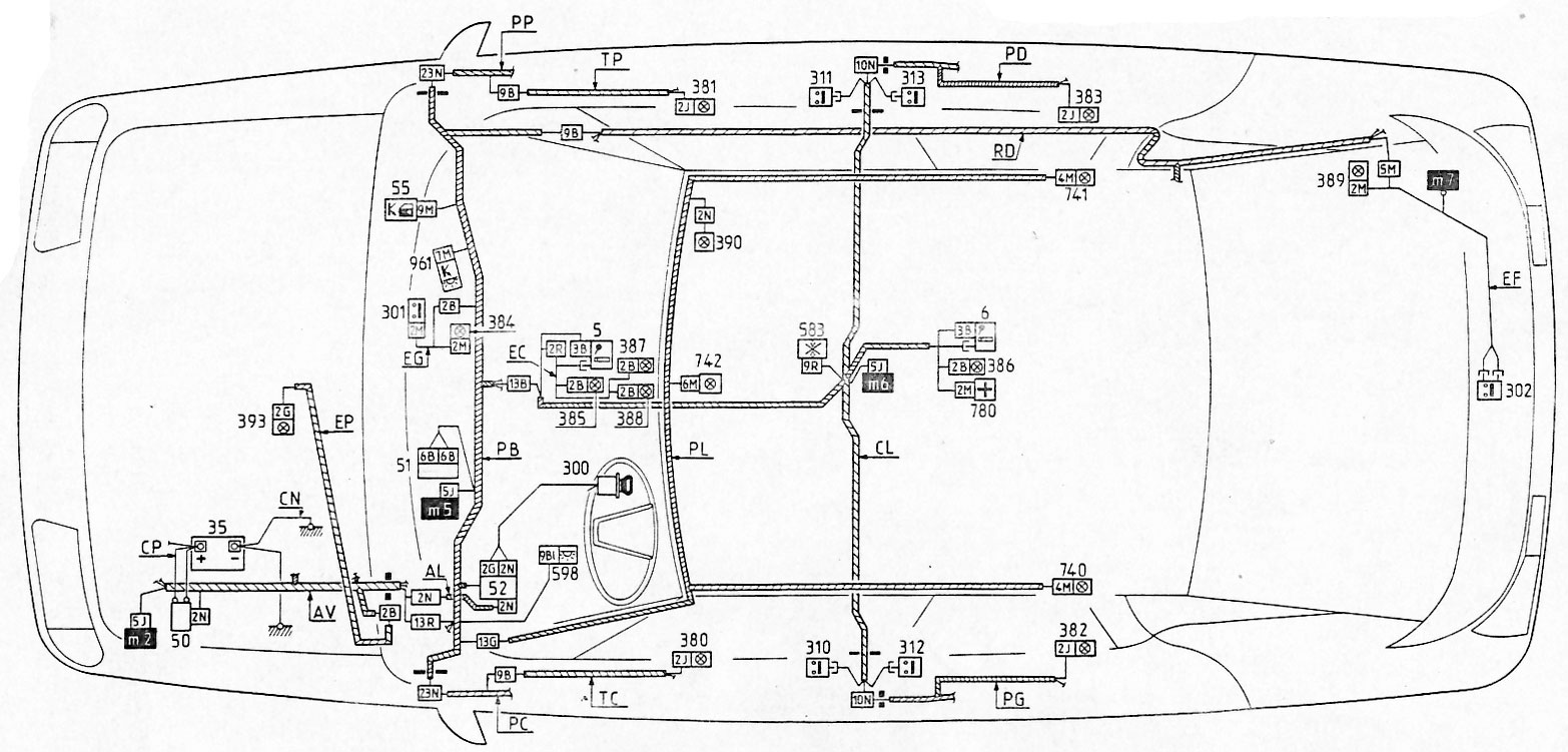 saab sid wiring diagram