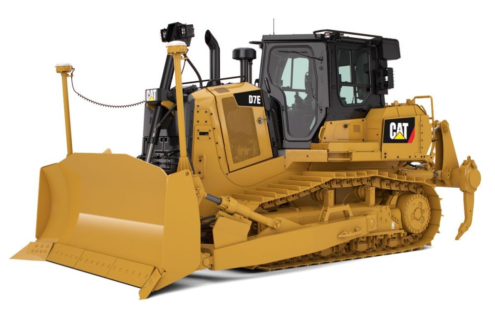 medium resolution of d7e medium track type tractor