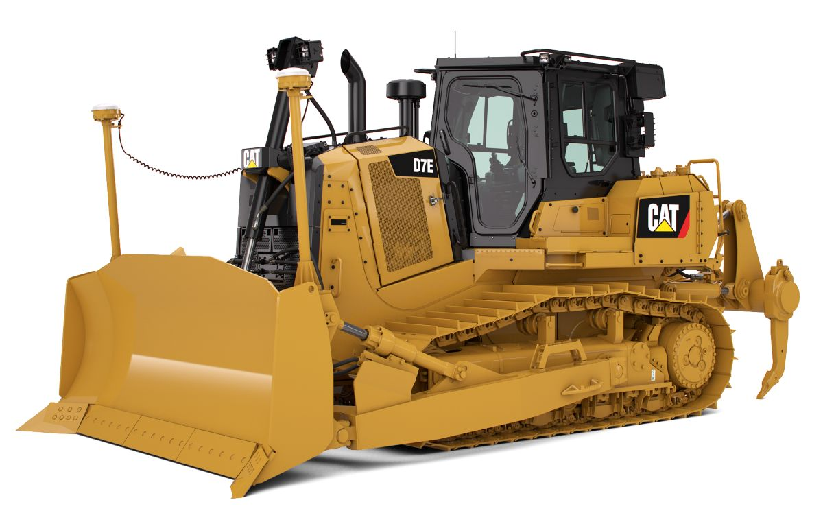 hight resolution of d7e medium track type tractor