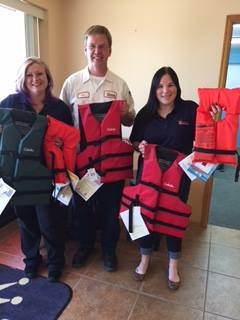 Peterson Plumbing Save-A-Life-Jacket Program