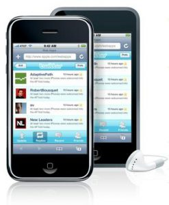 Twitter easy accessible on iPhone and other mobile devices