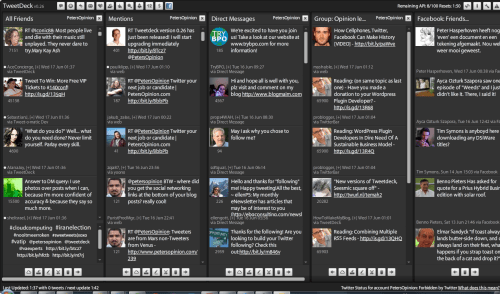Tweetdeck v0.26 just released