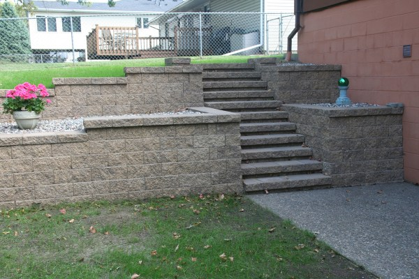 retaining walls - wall blocks