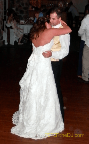 Kelly and Nicholas' first dance.